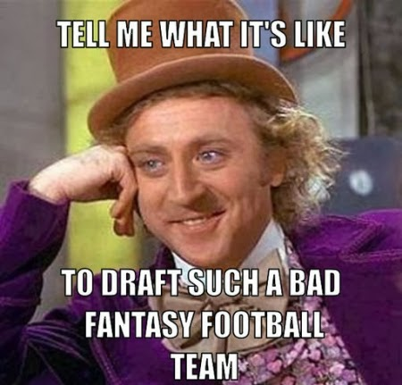 wonka meme, draft meme, coarsening culture, technology, fantasy football meme,