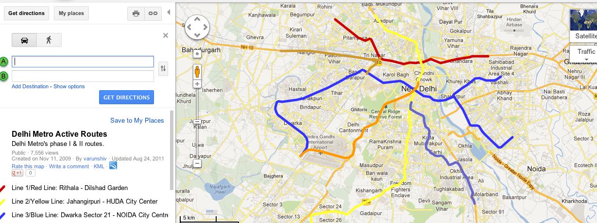 blogging for beginners rail radar and delhi metro map