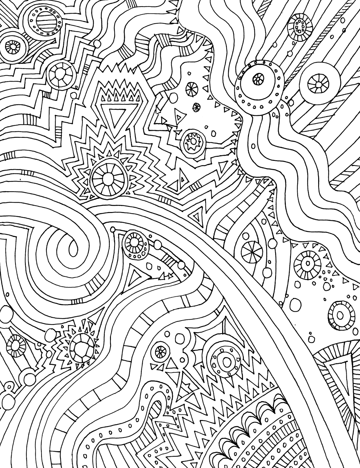 adult coloring printable pages - photo#12