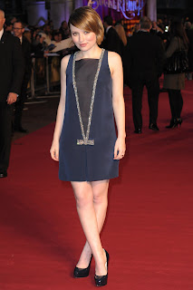Emily Browning at the Sucker Punch London Premiere