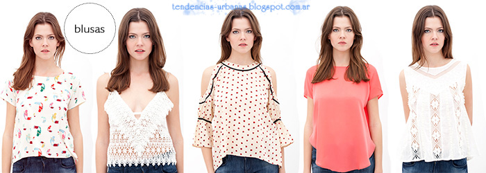 blusas de moda DelaOstia Verano 2013