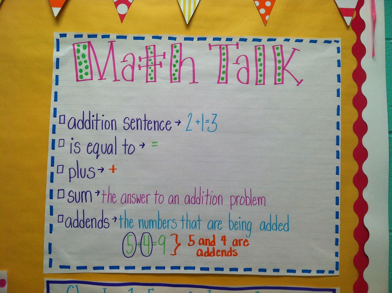 Math Graffiti Vocabulary I made these for the math