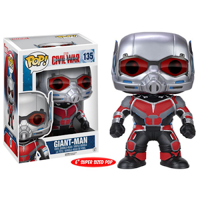 "Captain America: Civil War Giant Man Pop! Marvel 6"" Vinyl Figure by Funko"