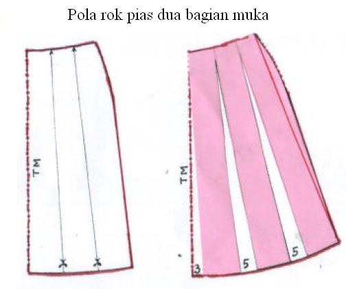 Rok pias Rok pias dapat dipakai untuk busana sehari-hari baik untuk ...