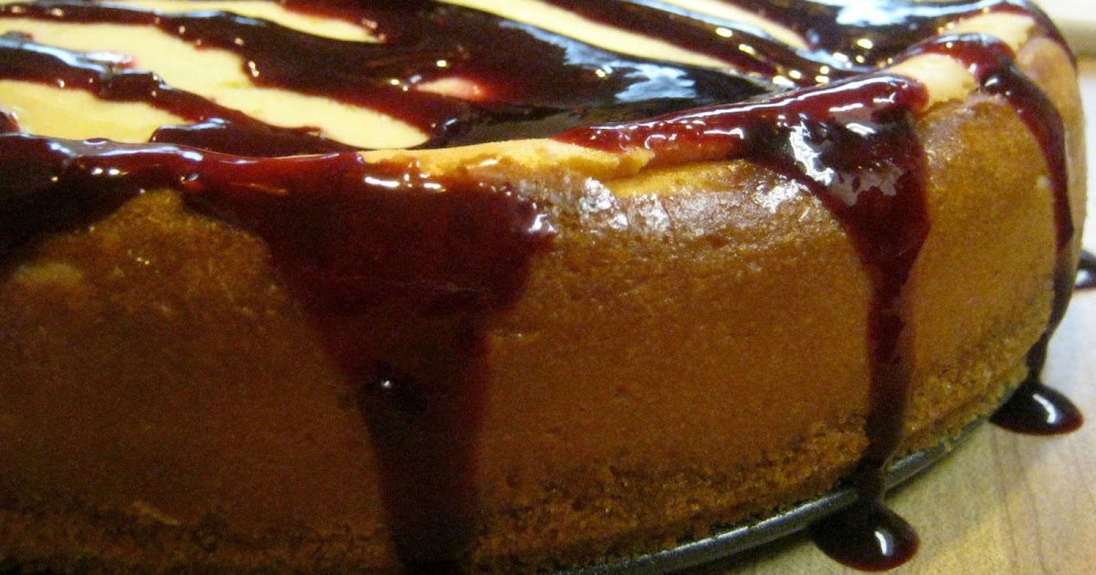 Walker Whims: Lime Cheesecake with Blackberry Sauce