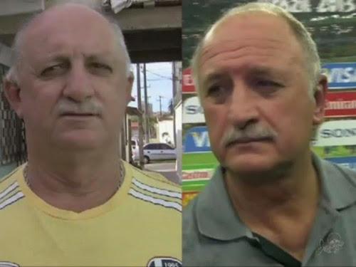 Acreditem eles são idênticos! Veja quem os sósias que confundem