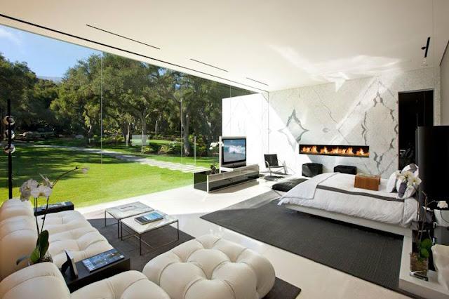 Rumah Dengan Pencahayaan Matahari