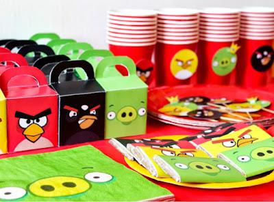 kit festa angry birds imprimir grátis