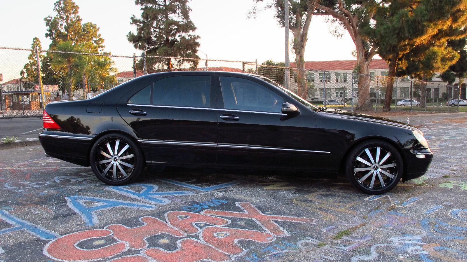 Mercedes benz w220 s430 long benztuning for Mercedes benz wheels
