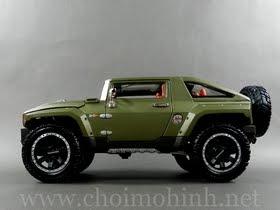 Xe mô hình tĩnh Hummer HX Concept hiệu Maisto tỉ lệ 1:18