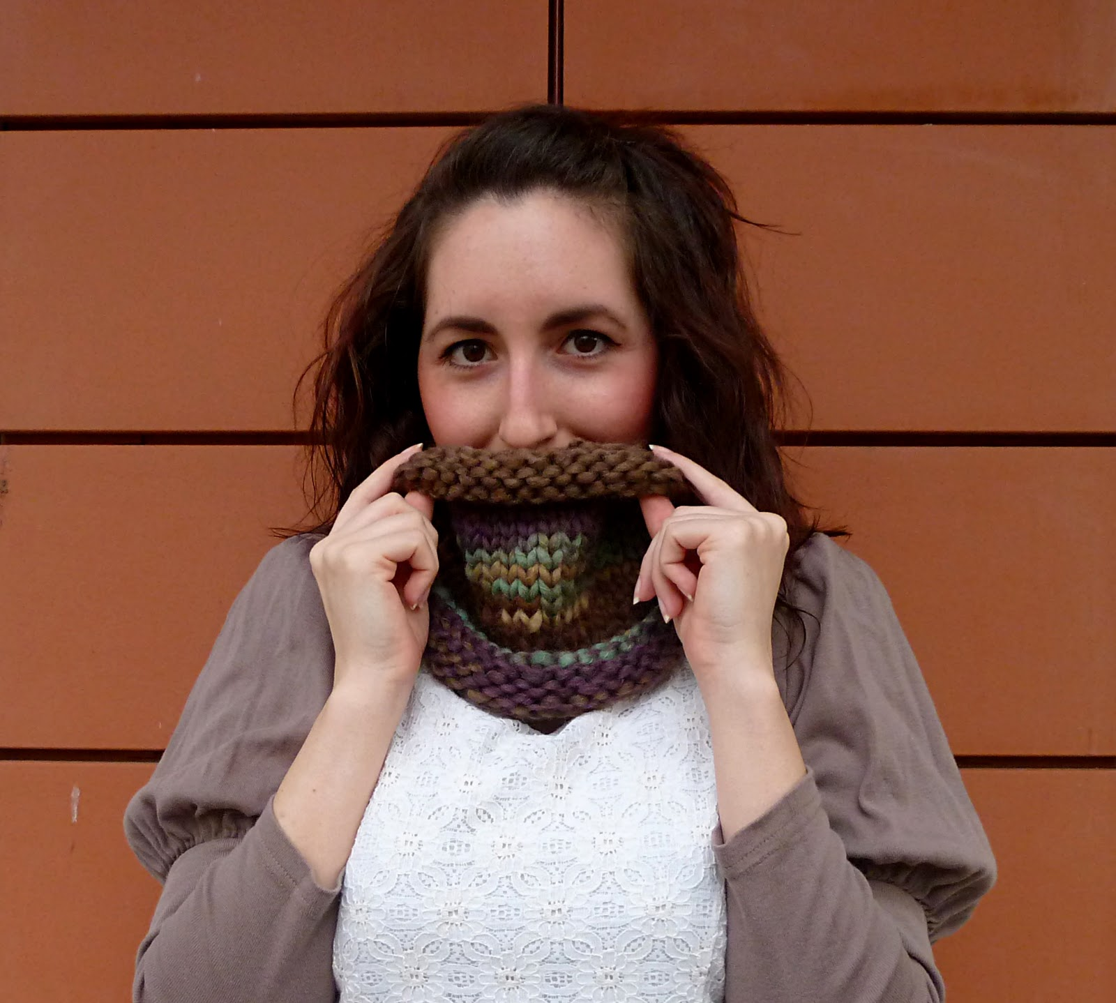 free knitting snood patterns.