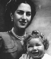 Reine Alexandra et prince héritier Alexander de Yougoslavie