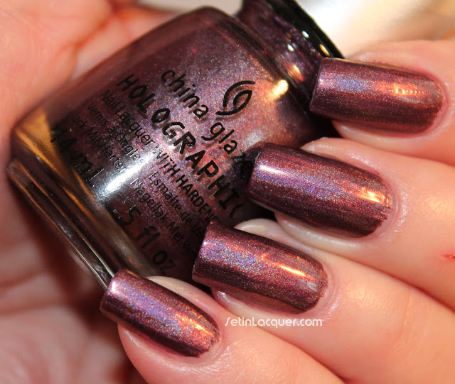 China Glaze Hologlam - When Starts Collide