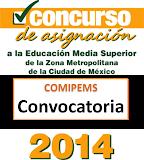 Convocatoria 2014 COMIPEMS