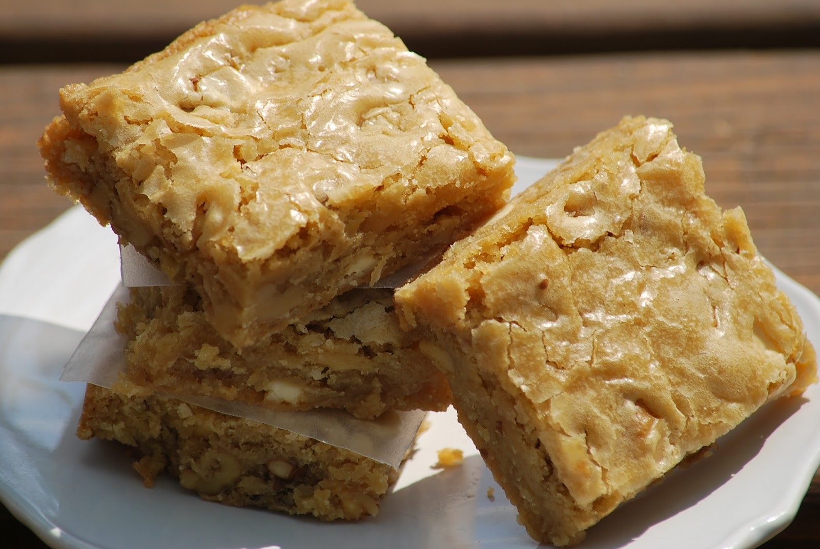 My story in recipes: Blondies