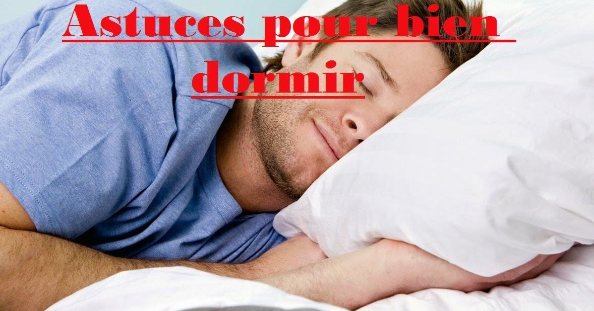 astuces pour bien dormir sports et sant. Black Bedroom Furniture Sets. Home Design Ideas