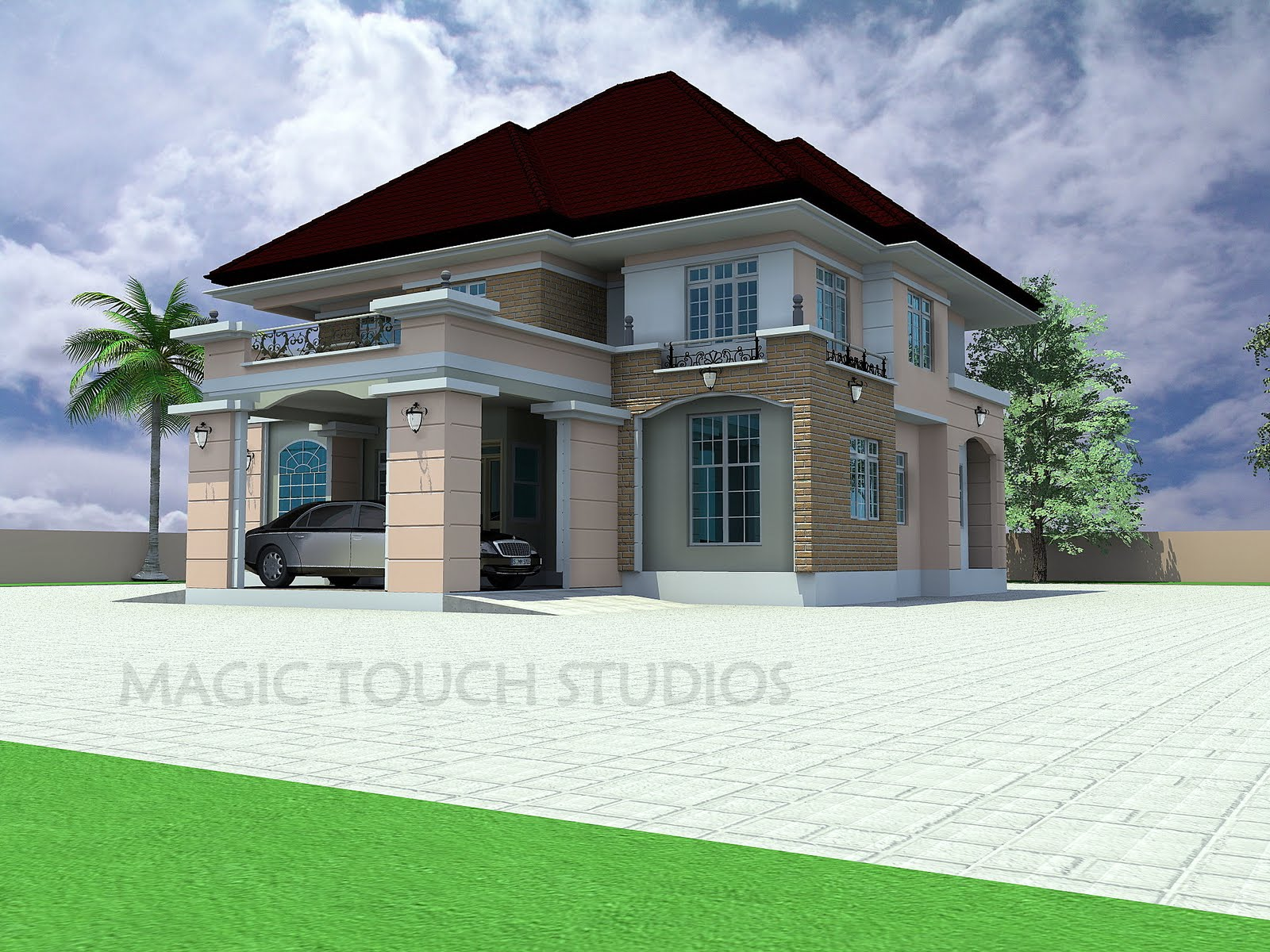 5 bedroom duplex residential homes and public designs for Good house photos