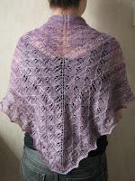 lace shawl wrap knitting pattern
