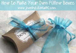 DIY Pillowbox tutorial - diy packaging