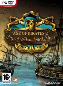 Age of Pirates 2 City of Abandoned ships PC Cover Age of Pirates 2: City of Abandoned Ships RELOADED