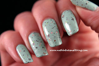 Etude House Ice Cream Polish Mint Chocochip