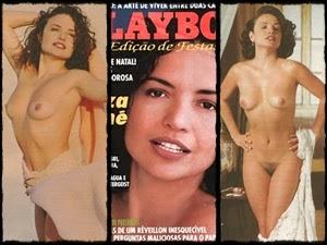 Luiza Tomé nua na Playboy de dezembro 1993