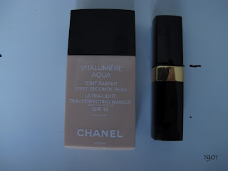 Chanel Vitalumiere Aqua, Coco Rouge Shine, Boy