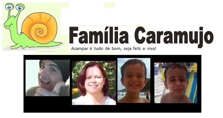 Família Caramujo - Acampar, um estilo de vida.