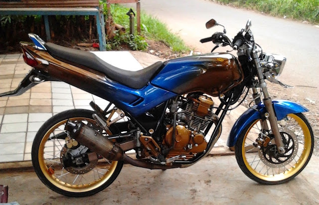 Modifikasi Motor Yamaha Scorpio Z Ring 17