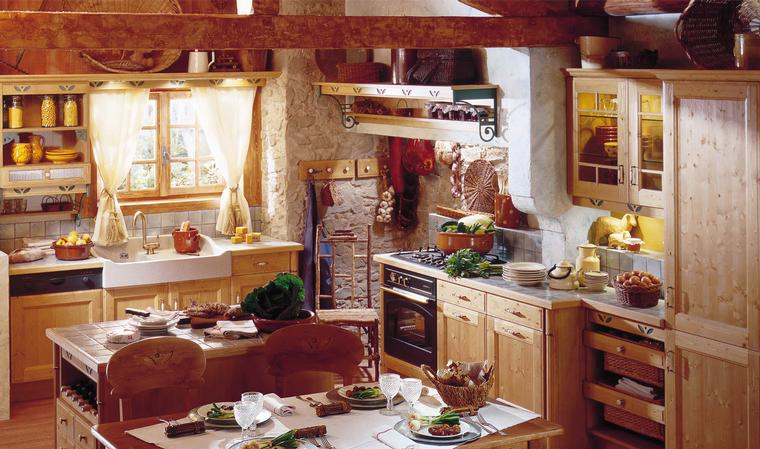 Home Interior Design & Decor French Country Kitchens