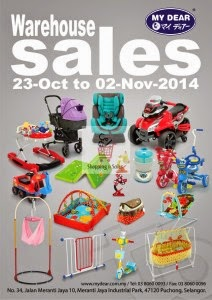 My Dear Warehouse Sale 2014 Kembali