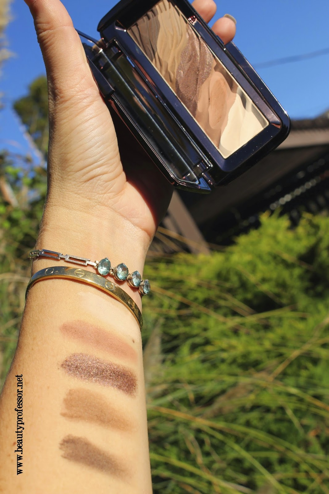 hourglass modernist palette infinity swatches