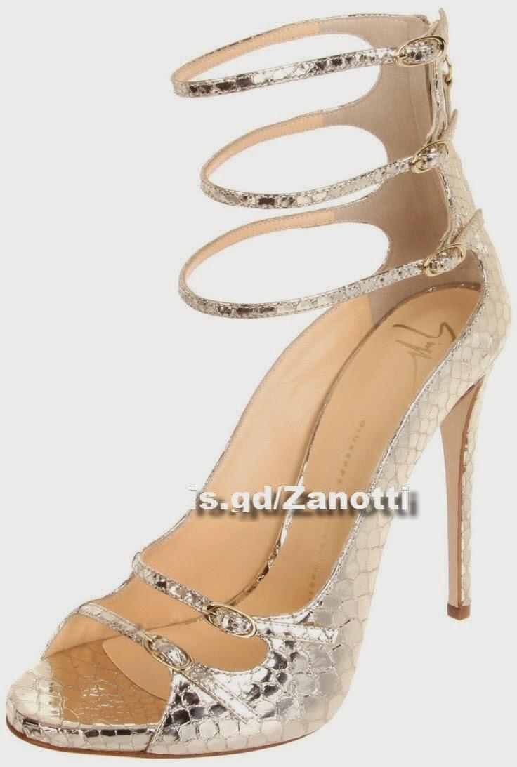 Triple Ankle Strap Sandal  Giuseppe Zanotti