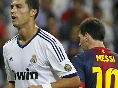 Cristiano overtook Messi scoring two goals