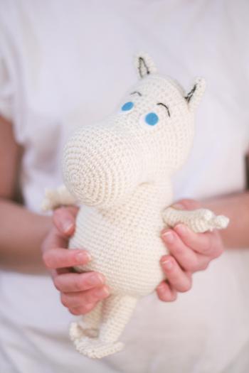 Moomin amigurumi free pattern by TSATT