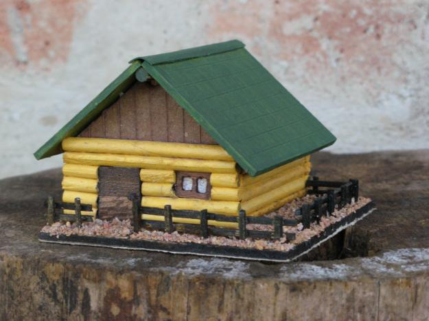 El mundo en miniatura - Casas en miniatura de madera ...