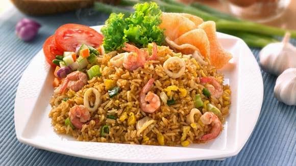 nasi goreng ingredients of nasi goreng 4 cups cold cooked rice 2 ...