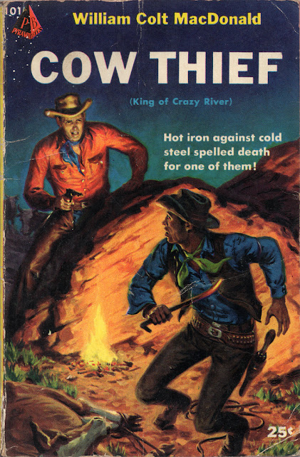 Pulp fiction, Book, Comic, Cowboy, Wild West, Abactor,