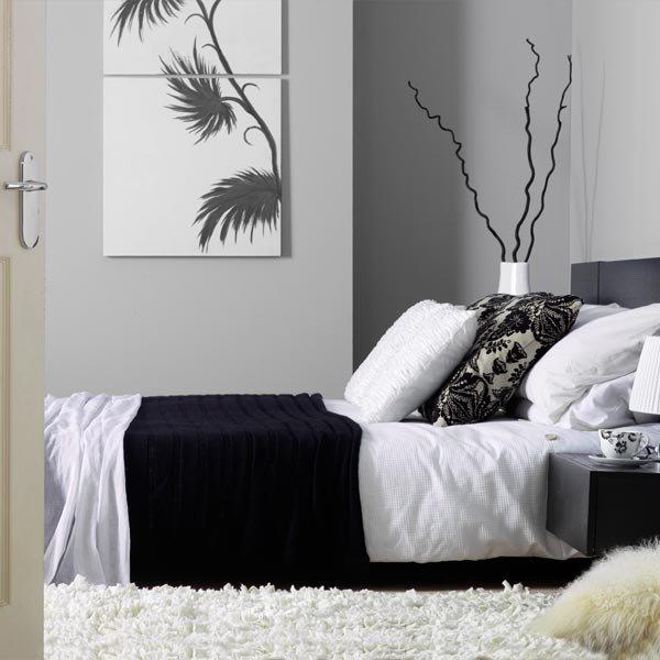 Dormitorios de color gris ideas de dise o decorar tu - Dormitorio de diseno ...
