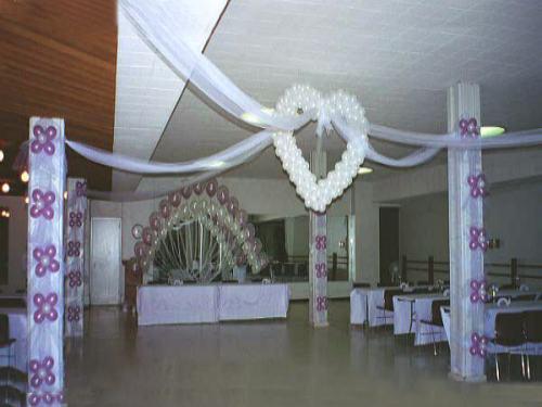 Estrella y lalis de todo un poco decoracion boda - Adornos para un salon ...