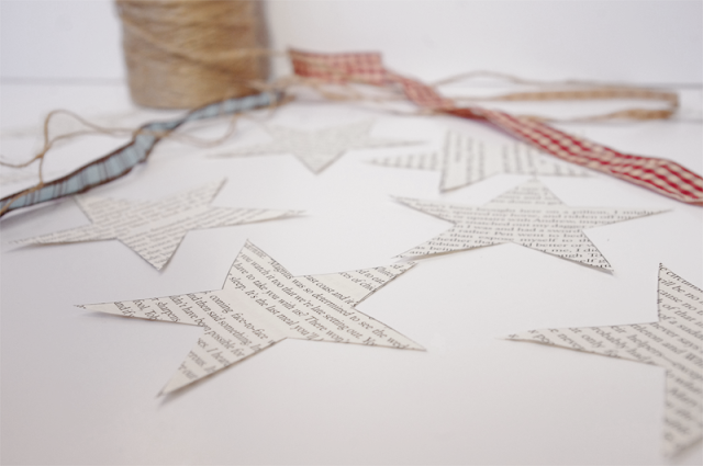 Lovely kit for you to make your own star garland