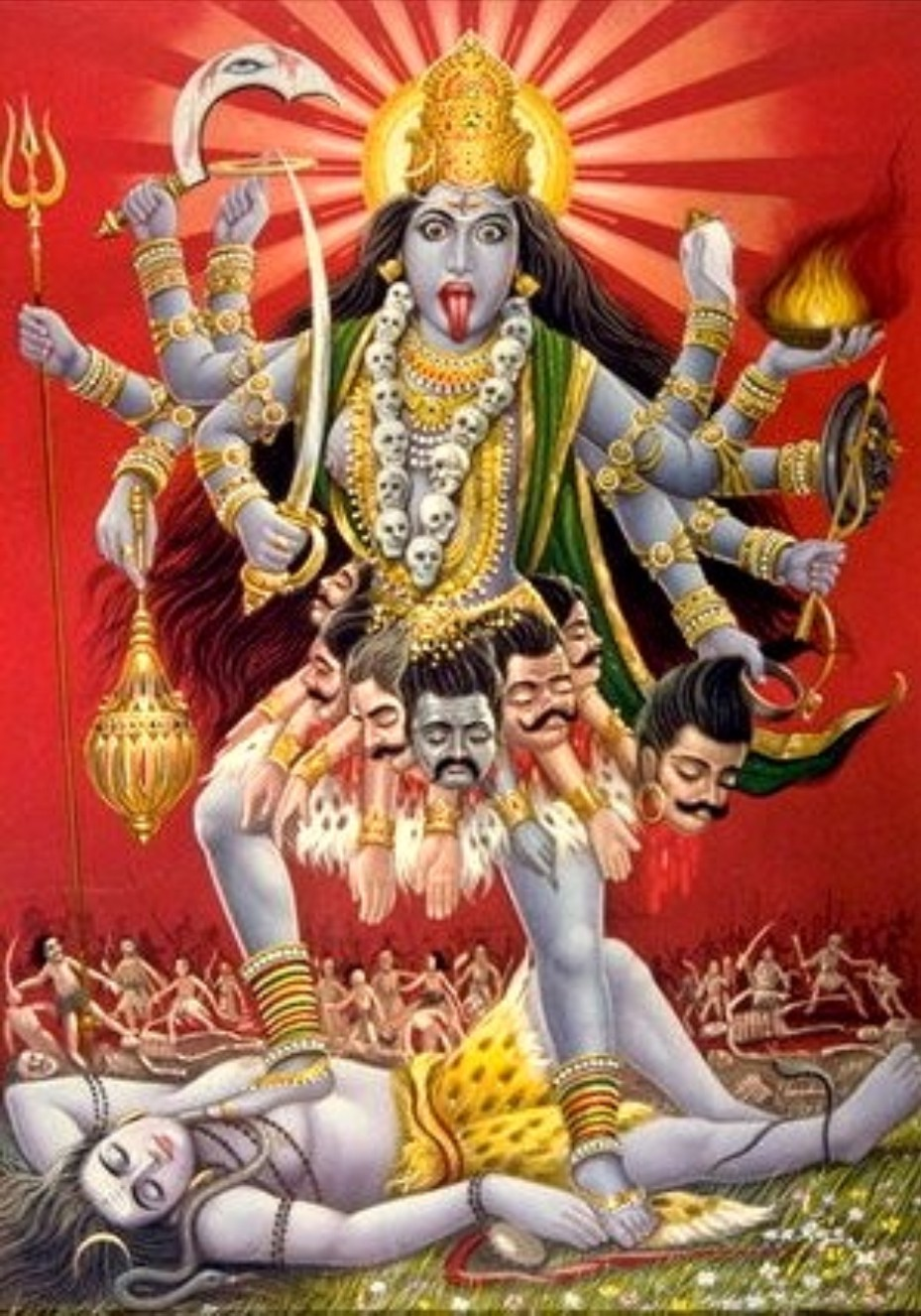Picture of Goddess Kali