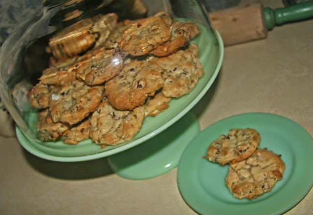 Almond Joy Cookies by Thistle Thicket Studio. www.thistlethicketstudio.com