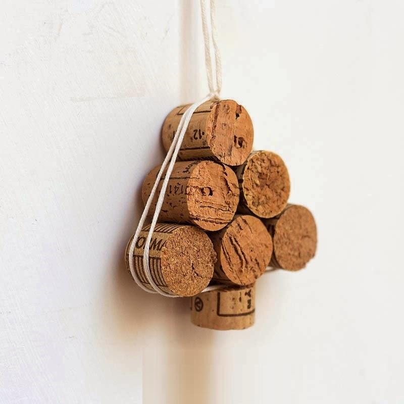 DIY, Arbol de Navidad Rustico con Corchos
