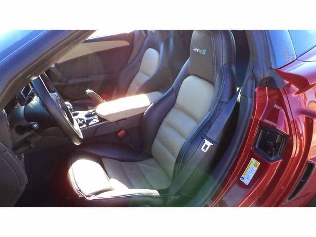2011 Chevrolet Corvette ZR1 Crystal Red Metallic