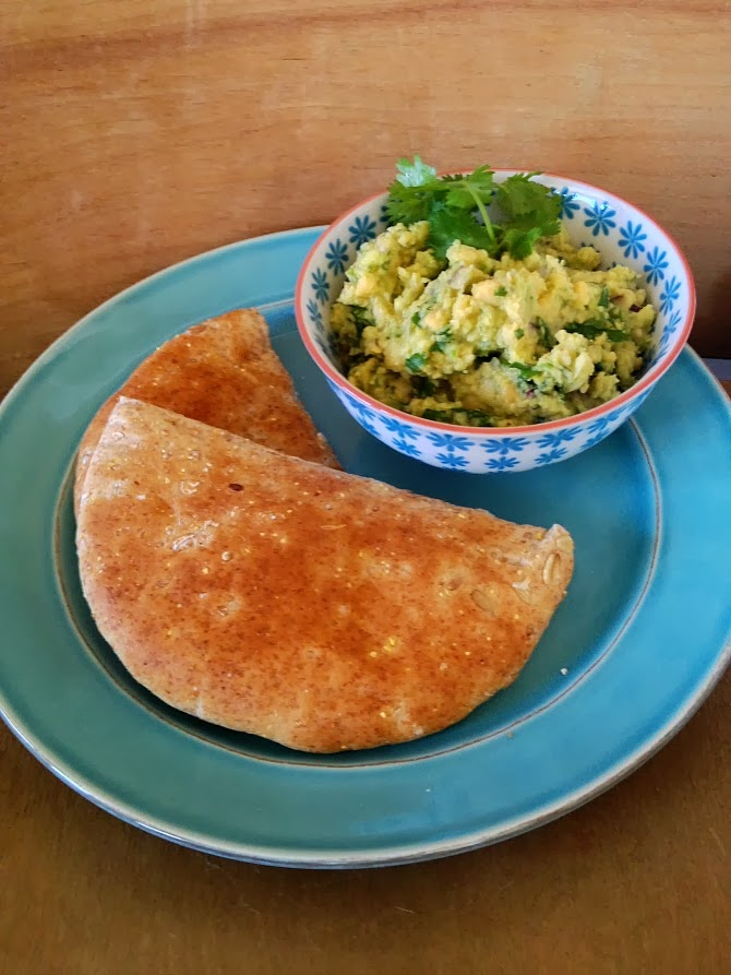 The Holland House: Smashed Chickpea and Avocado