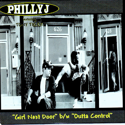 Philly J Feat. Tony Tiger - Girl Next Door-Promo-CDS-1996