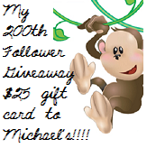 200 Follower Give-A-Way