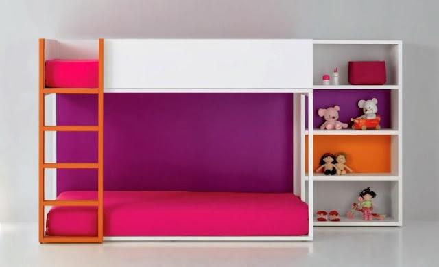 DORMITORIOS INFANTILES COMPARTIDOS - HABITACIONES INFANTILES MINIMALISTAS - RECAMARAS MINIMALISTAS PARA NIÑOS by http://dormitorioinfantil.blogspot.com/