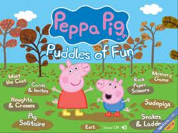 Peppa Pig Puddle